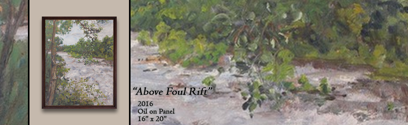 Oil Painting, Above Foul Rift