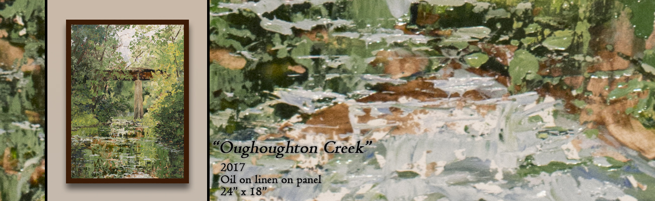 Oil Painting, Oughoughton Creek
