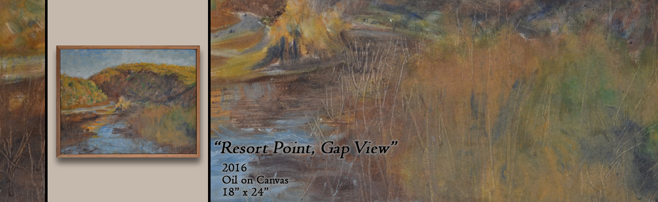 Oil Painting, Resort Point, Gap View