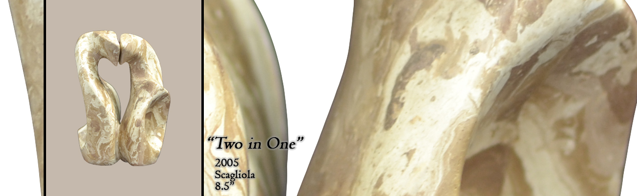 Scagliola Sculpture: Two In One